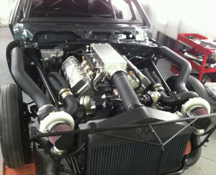 Xtreme Innovations And Fabrication 1967 Twin Turbo Camaro