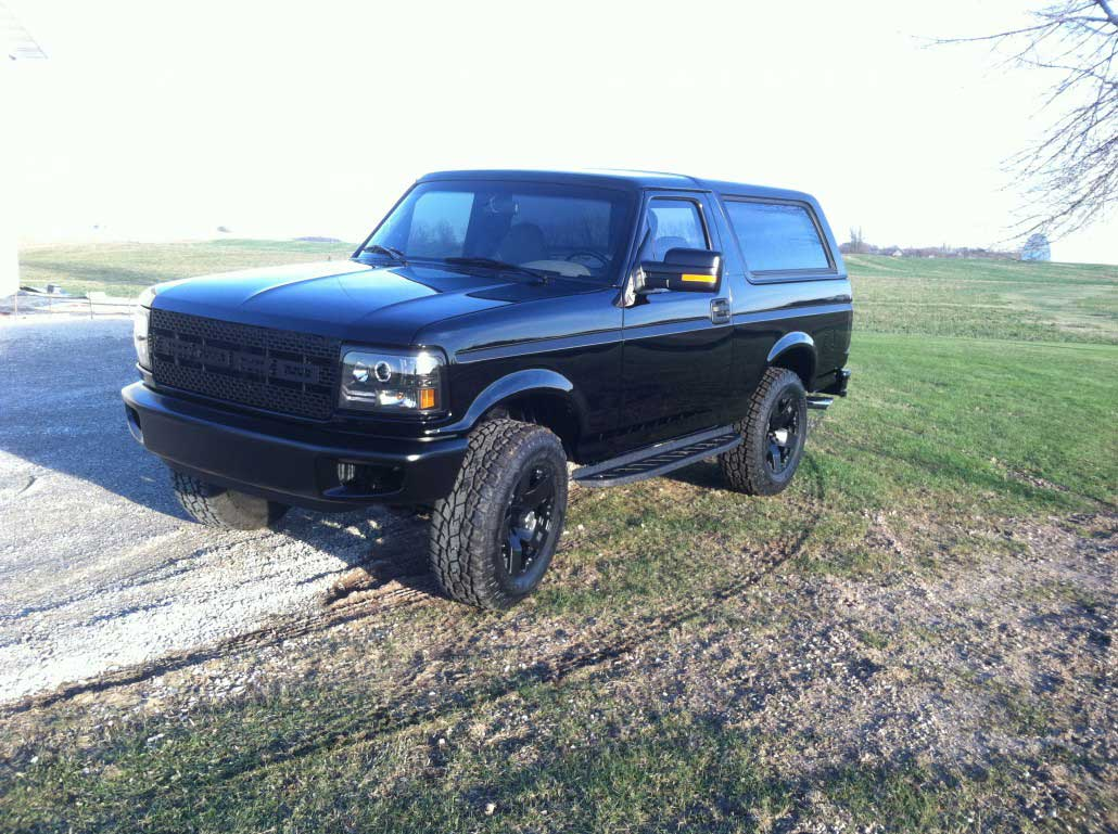 Ford Bronco Raptor >> Xtreme Innovations and Fabrication | 1996 Bronco – Raptor Edition