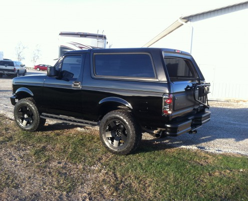 Xtreme Innovations And Fabrication 1996 Bronco Raptor